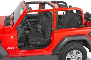Diver Down Neoprene Seat Covers for 2018+ Jeep Wrangler JL 2 Door 14167JL-