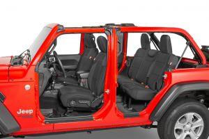 Diver Down Neoprene Seat Covers for 2018+ Jeep Wrangler JLU 4 Door w/ Cloth Interior 14167JLU-