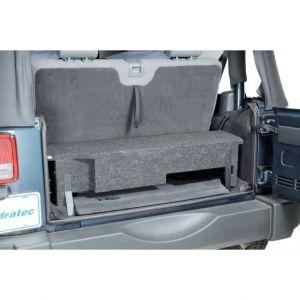 "Quadratec JKFS-BOX Custom Rear Subwoofer Enclosure with 10"" Round Cutout for 07-10 Jeep Wrangler JK 14136.3903"