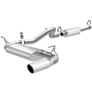Magnaflow Performance Stainless Steel Cat Back Exhaust System For 2012-18 Jeep Wrangler JK 2 Door With 3.6L 15116