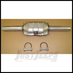 Omix-ADA Catalytic Converter For 1981-86 Jeep CJ Series & Full Size With 4.2L & 1984-86 Jeep CJ Series With 2.5L With Hardware 17601.01