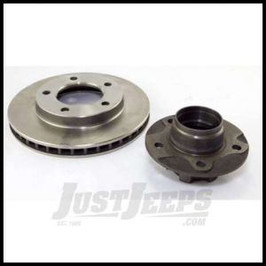 Omix-ADA Brake Rotor Assembly With Hub Front For 1979-81 Jeep CJ With 7/8 in. Thick Rotor 16704.02