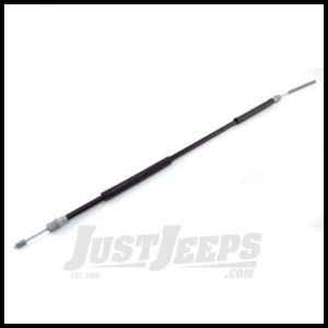 Omix-ADA Emergency Brake Cable Driver Rear For 1987-89 Jeep Wrangler 16730.19
