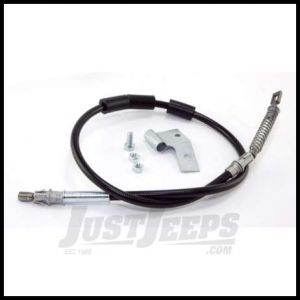 Omix-ADA Emergency Brake Cable Driver Rear For 2003-05 Jeep Wrangler With Disc Brakes With ABS 16730.47