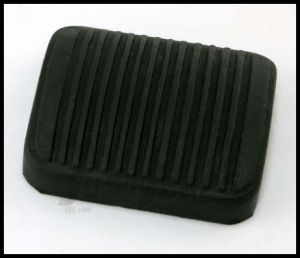Omix-ADA Brake or Clutch Pedal Cover Pad For 1987-06 Jeep Cherokee XJ and Wrangler YJ With Manual Transmission 16753.03