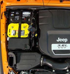Mountain Off Road Dual Battery Tray For 2012-18 Jeep Wrangler JK 2 Door & Unlimited 4 Door Models JKDBT12
