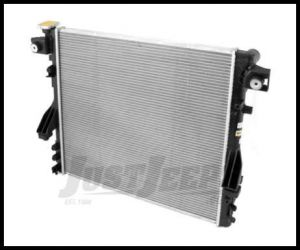 Omix-ADA Radiator 1 Row For 2007+ Jeep Wrangler JK With 3.8L/3.6L Automatic or Manual Transmission 17101.38