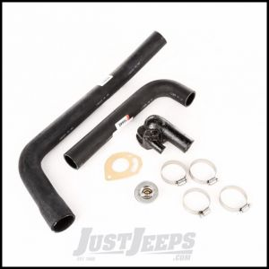 Omix-ADA Cooling Kit With Radiator Hoses, Thermostat Housing & Gasket & Hose Clamps For 1983-86 Jeep CJ Series With 2.5Ltr 17118.20