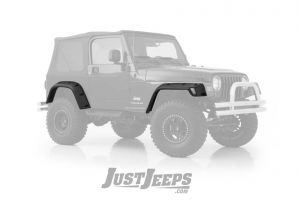 "SmittyBilt 6"" Pocket Style Fender Flares For 1997-06 Jeep Wrangler TJ & TLJ Unlimited Models 17190"