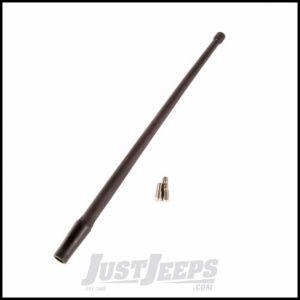 """Rugged Ridge 13"""" Stubby Radio Antenna For 2007-18+ Jeep Wrangler JK & JL/JT 2 Door & Unlimited 4 Door Models 17212.10"""