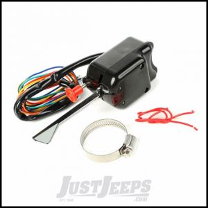 """Omix-ADA Black Turn Signal Switch Kit Includes Wiring Harness & Built"""" Flasher For 1946-71 Willys & CJ Series 17232.03"""