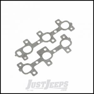 Omix-ADA Exhaust Manifold Gasket Set For 2005-10 Jeep Grand Cherokee, 2006-10 Commander & 2002-13 Liberty With 3.7Ltr Engines 17451.23