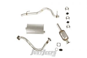 Omix-ADA Exhaust Kit For 1987-92 Jeep Wrangler YJ With 2.5Ltr Engines 17606.30