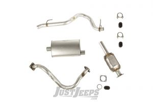 Omix-ADA Exhaust Kit For 1993-95 Jeep Wrangler YJ With 2.5Ltr Engines 17606.31