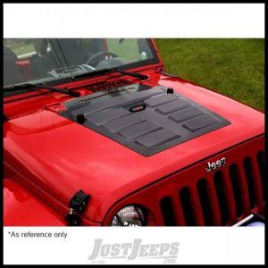 Rugged Ridge Hood Louver Vent In Primer For 2007-18 Jeep Wrangler JK 2 Door & Unlimited 4 Door Models 17759.11