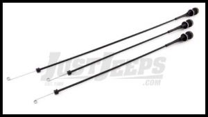 Omix-ADA HEATER CABLE KIT 3PC SET 1976-86 CJ SERIES 17905.04
