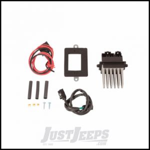 Omix-ADA Blower Motor Resistor Module Upgrade Kit Including Wiring Harness & Adaptor Plate For 1999-04 Grand Cherokee WJ With Auto Temperature Control 17909.06