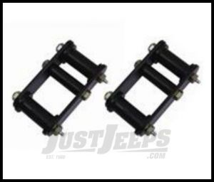 """Rugged Ridge Heavy Duty Front Greasable Shackle Adds 1"""" of lift For 1987-95 Jeep Wrangler YJ 18265.15"""