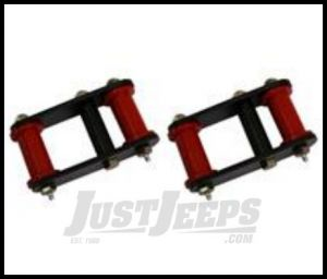 """Rugged Ridge Heavy Duty Front Greasable Shackle Adds 1"""" of lift For 1987-95 Jeep Wrangler YJ 18265.16"""
