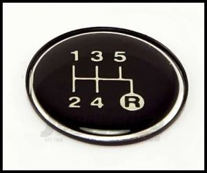 Omix-ADA T5 Gearshift Knob Pattern Insert For 1982-86 Jeep CJ Series & Full Size 18885.28