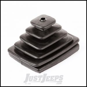 Omix-ADA Manual Transmission Outer Shift Boot For 1997-04 Jeep Wrangler TJ & TJ Unlimited Models 18886.96