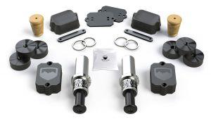 "Teraflex SpeedBump Front & Falcon Progressive Rear Bump Stop Kit (0-4.5""? Lift) For 2018+ Jeep Wrangler JL 2 Door & Unlimited 4 Door Models 1958350"