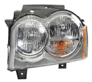 Quadratec Driver Side Head Lamp Assembly for 05-07 Jeep Grand Cherokee WK 55022.0031