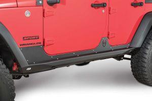 JCR Offroad Crusader Rock Sliders for 07-18 Jeep Wrangler JK 2 Door JKSL-CRL-2D-PC
