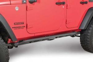 JCR Offroad Classic Rock Sliders for 07-18 Jeep Wrangler Unlimited JK 4 Door JKSL-CL-4D-PC