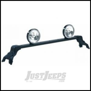 CARR Deluxe Light Bar XP3 Black For 1984-10 Jeep Cherokee XJ & Grand Cherokee Models 210341