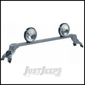 CARR Deluxe Light Bar XP4 Silver For 1984-10 Jeep Cherokee XJ & Grand Cherokee Models 210344