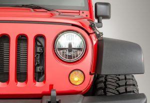 Quadratec Gen II LED Headlights for 07-18 Jeep Wrangler JK 97109-