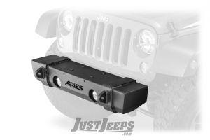 Aries Automotive TrailCrusher Front Bumper For 2007-18 Jeep Wrangler JK 2 Door & Unlimited 4 Door Models 2156000