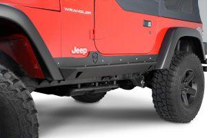 JCR Offroad Crusader Rock Sliders for 04-06 Jeep Wrangler TJ Unlimited SWBSLCRLJPC