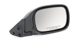 Quadratec Passenger Side Manual Non Remote Replacement Mirror for 97-01 Jeep Cherokee XJ 13111.0736