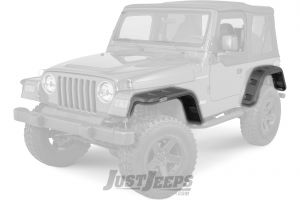 Rugged Ridge Hurricane Fender Flare Kit For 1997-06 Jeep Wrangler TJ & TJ Unlimited Models 11640.30