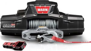 WARN ZEON 12-S Platinum Winch with Synthetic Rope 95960