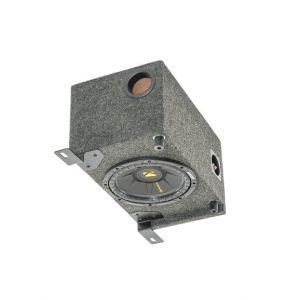 Quadratec Kicker 10S Sub Box for Sony MEX-XB100BT Stereo Receiver for 97-06 Jeep Wrangler TJ, TLJ 14136.3010