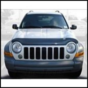 Auto Ventshade Bugflector II in Smoke For 2005-07 Jeep Liberty KJ Renegade Models 24508