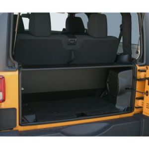 Tuffy Products Security Tailgate Enclosure In Black For 2011-18 Jeep Wrangler JK 2 door Models 282-01