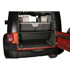 Tuffy Products Security Tailgate Enclosure In Black For 2007-10 Jeep Wrangler JK 286-01