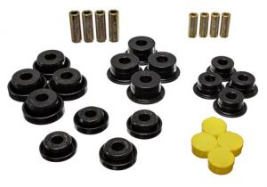 Energy Suspension Front Control Arm Bushings Black For 1997-06 Jeep Wrangler TJ & Unlimited 2.3106G