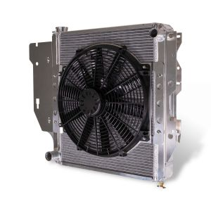 Flex-A-Lite Extruded Core Radiator and Electric Fan For 1987-06 Jeep Wrangler YJ & TJ Models 315762