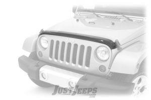 Auto Ventshade Aeroskin Hood Deflector For 2007-18 Jeep Wrangler JK 2 Door & Unlimited 4 Door Models 322060-