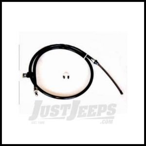 Omix-ADA Emergency Brake Cable Rear Passenger Side For 1978-80 Jeep CJ 16730.08