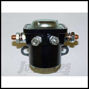 Omix-ADA Starter Solenoid For 1972-79 Jeep CJ Series With 6 Cyl or 8 Cyl Engine (4 Terminal) 17230.02