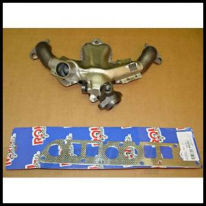 Omix-ADA Exhaust Manifold Kit For 1984-90 Jeep CJ Series, Wrangler YJ & Cherokee XJ With AMC 2.5L With Gasket 17622.03