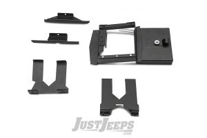 Tuffy Products Security Console Insert In Black For 2018+ Jeep Wrangler JL 2 Door & Unlimited 4 Door Models 348-01