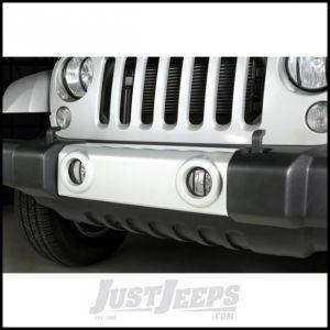 Outland Fog Light (Black) Euro Guards For 2007-18 Jeep Wrangler JK 2 Door & Unlimited 4 Door Models 391123113