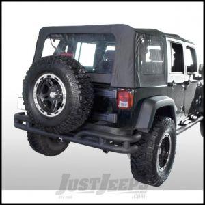 "Outland 3"" Tube Rear Bumper For 2007-18 Jeep Wrangler JK 2 Door & Unlimited 4 Door Models 391157110"